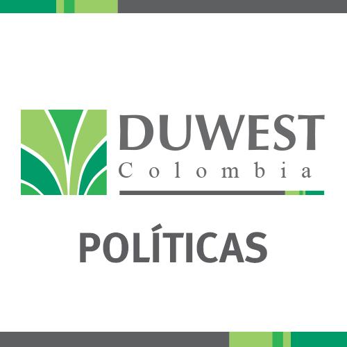 Políticas Duwest Colombia